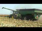 Farm Progress Show 2012 John Deere S 690 Combine Corn Harvest Demo