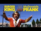 Burger King Visits McDonald's Prank