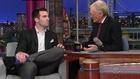 Joe Flacco Talks To David Letterman  - ESPN