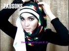 Hijab Tutorial #2 How to Wear Scarf Shawl Pashmina Wrap www hijabrepublic com