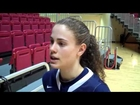 Naama Shafir Post Game Comments at Ball State