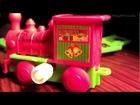 Christmas Toy Train Sets For Kids w/ Wind Up Motor & Track Parts Like Xmas Polar Express Trains