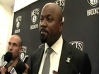 Brooklyn Nets General Manager Billy King Speaks with the Media at...