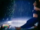 Mallu Indian Desi Aunty Sexy Wet in Rain Hot Dance