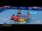 2012 China vs World: Chen Meng / Zhu Yuling - Feng Tianwei / Samara Elizabeta [Full/Short Form]