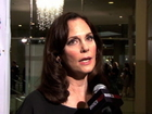 Lesley Ann Warren answers questions at cancer event